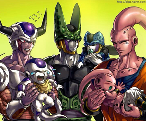 cell, dragon ball z, and dbz image