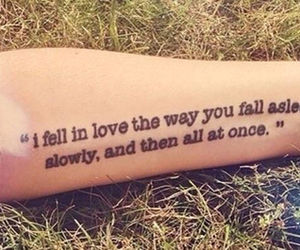 quote, tattoo, and love image