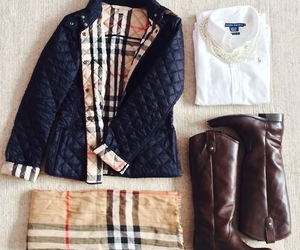 Burberry, outfit, and clothes image