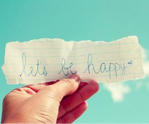 happy, sky, and quotes image