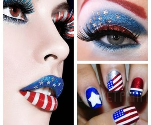 cute and lips eyes nails image