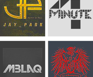 bands, kpop, and Logo image