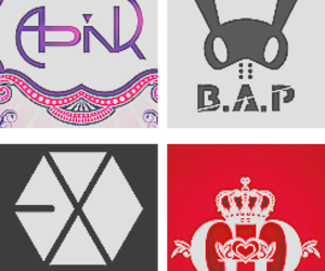bands, kpop, and exo image