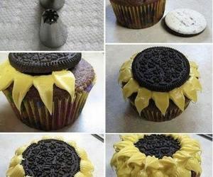 cupcake, diy, and icing image