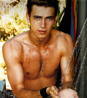 cool, famous, and hayden christensen image