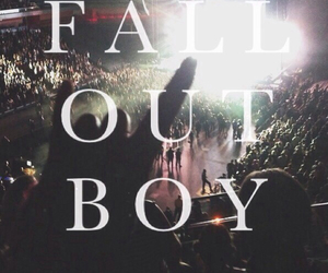 boy, concert, and fall image