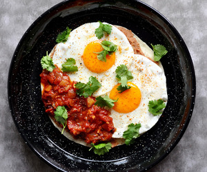 beans, eggs, and breakfast image