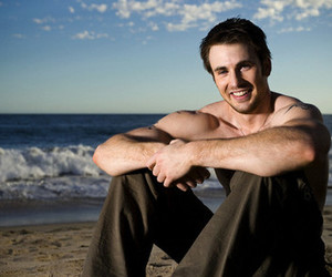 actor, shirtless, and chris evans image
