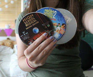 high school musical, dvd, and HSM image