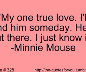 disney, minnie mouse, and quote image