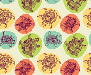 colors, turtles, and backgrounds image