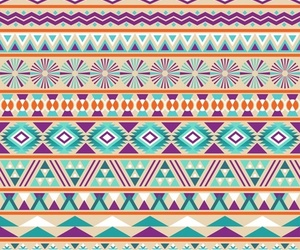 background, aztec, and colors image