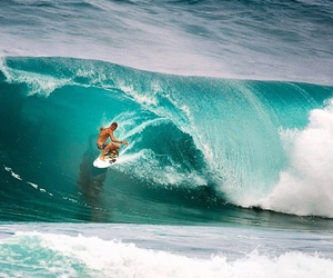 waves, ocean, and surfing image
