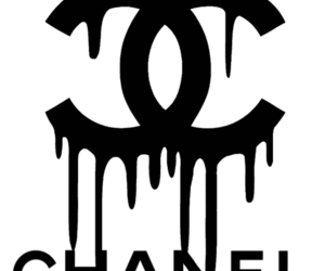 chanel, transparent, and black image