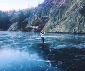 adventure, explore, and frozen image