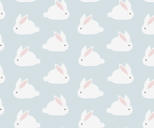 wallpaper, rabbit, and bunny image