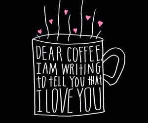coffee and love image