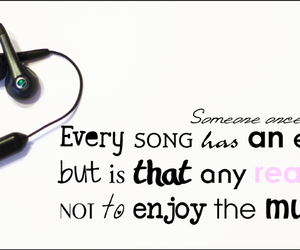 headphones, text, and music image