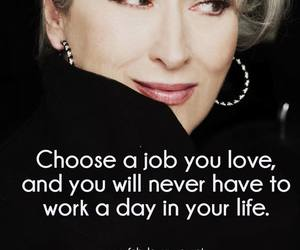 devil wears prada, girl, and motivation image