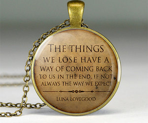 harry potter, luna lovegood, and quote image