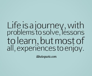 journey and life image