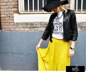 blog, blond, and hat image