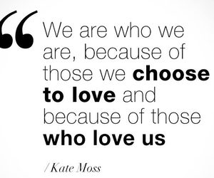 kate moss and love image