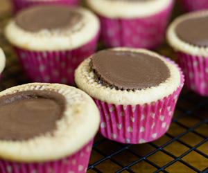 muffins, peanut butter, and reese's image
