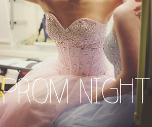 blue, girls, and prom night image