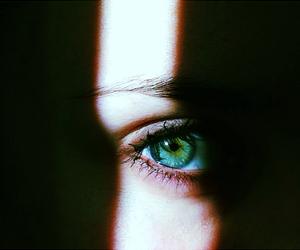 eyes, green, and magic image