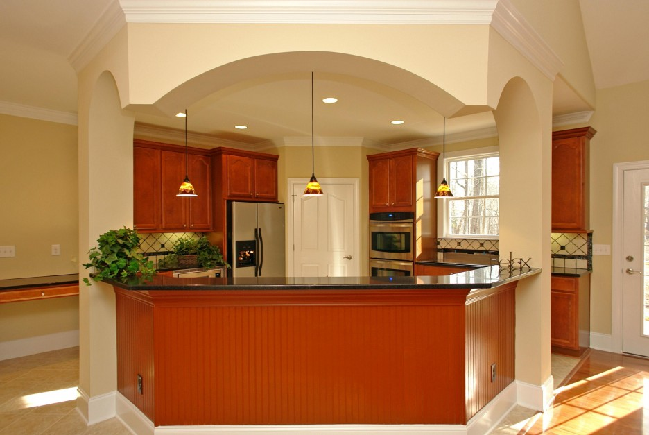 Luxurious Kitchen Design With Marble Countertop Made With Best Small Kitchen Layout For Luxurious Home Living Interior