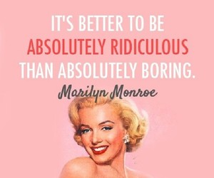 Marilyn Monroe, quotes, and pink image