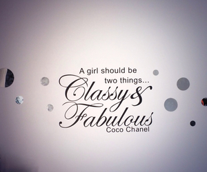 art deco, coco chanel, and wall art image