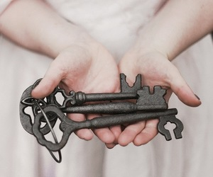 key, photography, and vintage image