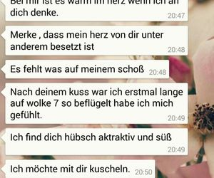 liebe, du, and whatsapp image