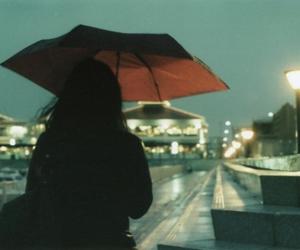 rain., rainy., and umbrella. image