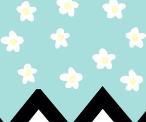 flowers, mint, and bg image