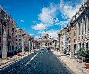 bella, italia, and roma image