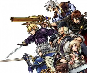 anime and final fantasy image