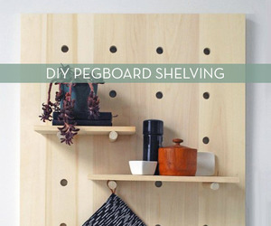 diy, home, and pegboard image