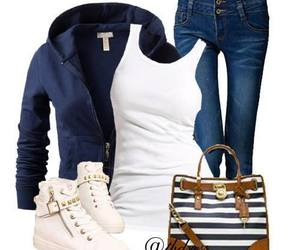 spring outfit and them shoes image