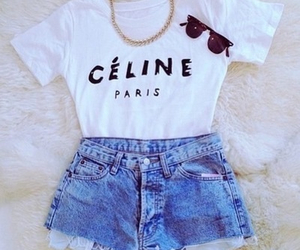 fashion, outfit, and celine image