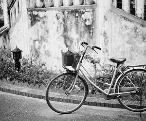 bike, vintage, and photography image