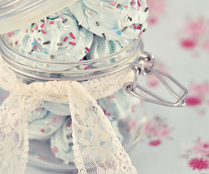 sweet, food, and blue image