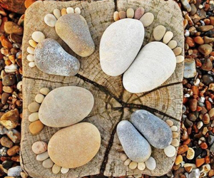 feet, stone, and nature image