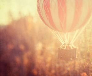 air, balloon, and let it go image
