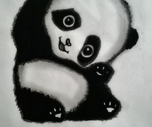 black&white, drawing, and lovely image