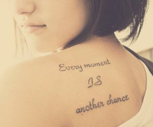 tattoo, back, and chance image