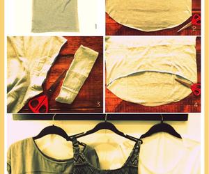 diy, tutorial, and shirt image