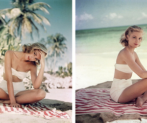 beach and grace kelly image